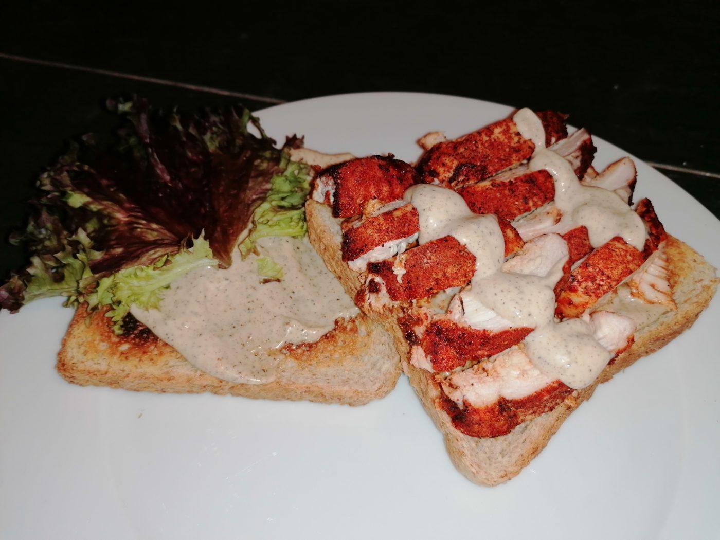 die Sachsengriller Grill Rezept Alabama Chicken Sandwich