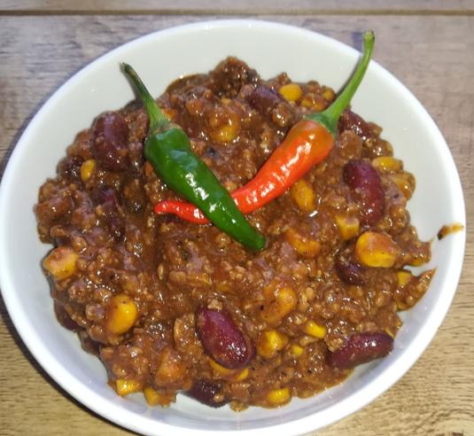 die Sachsengriller Grill Rezept Chili con Carne