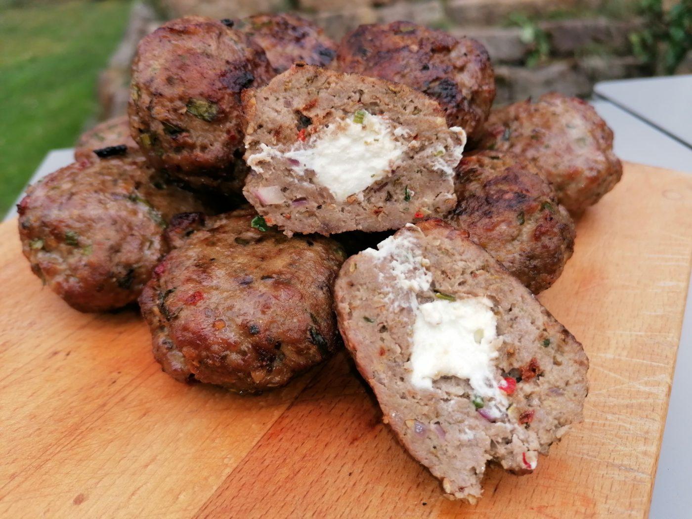 die Sachsengriller Grill Rezept Bifteki oder Beefsteak