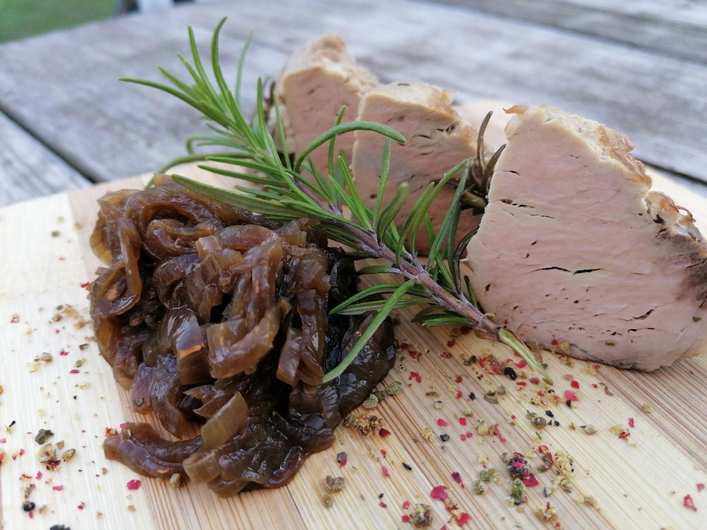 die Sachsengriller Grill Rezept Schweinefilet gedünstet