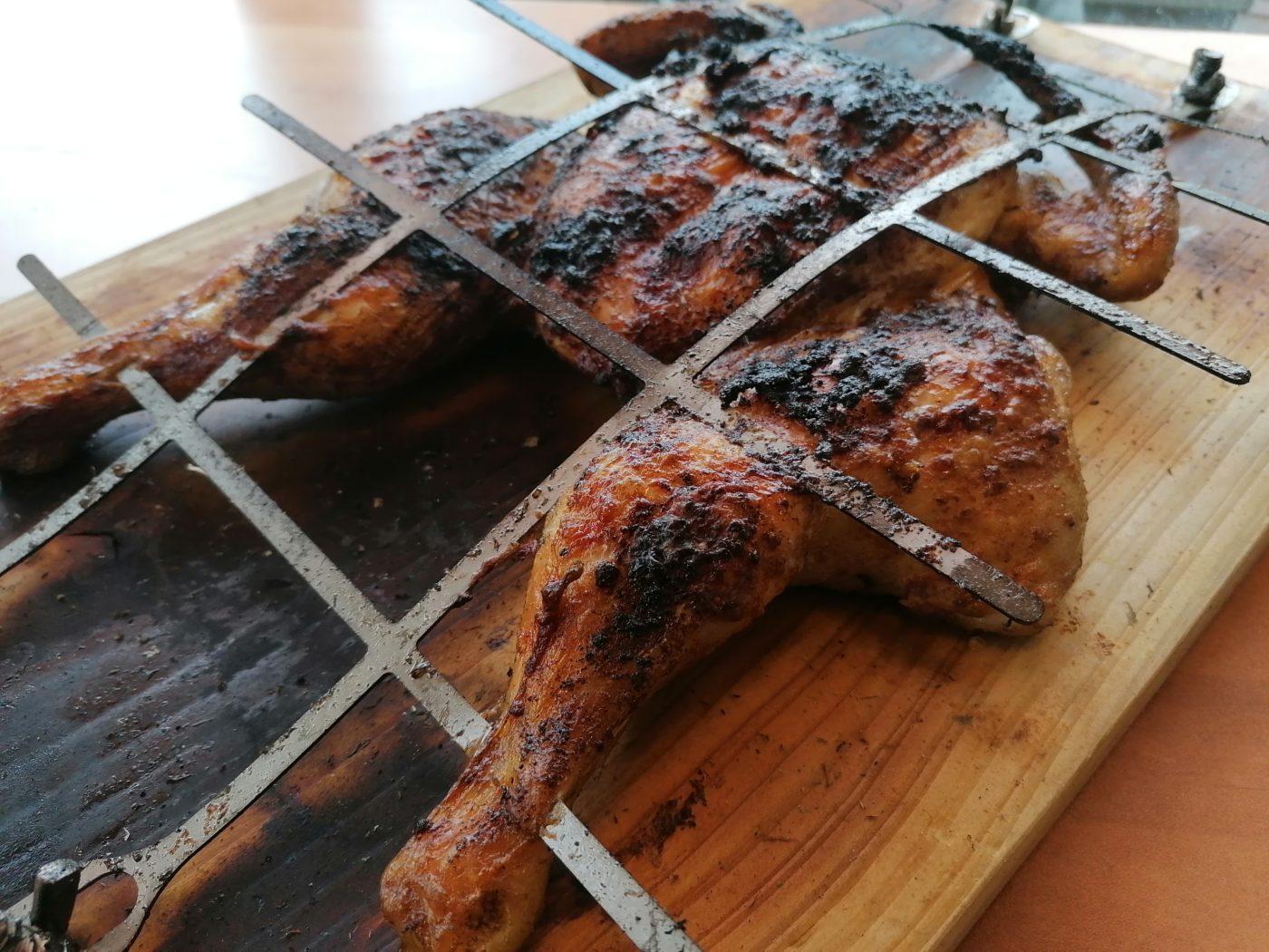 die Sachsengriller Grill Rezept Roadkill Chicken