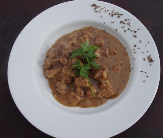 die Sachsengriller Grill Rezept sächsisches Kümmelfleisch
