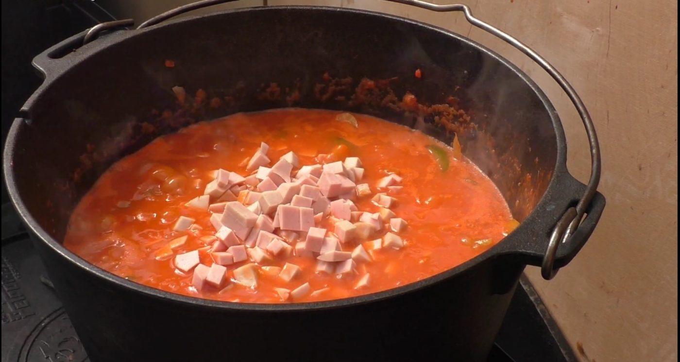 die Sachsengriller Grill Rezept Rustikale Zwiebelsuppe