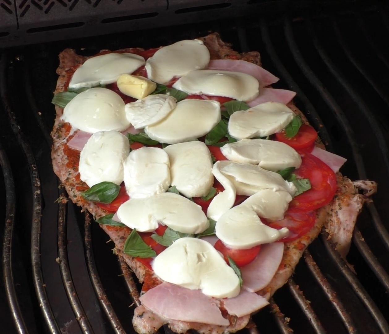 die Sachsengriller Grill Rezept Filet Pizza
