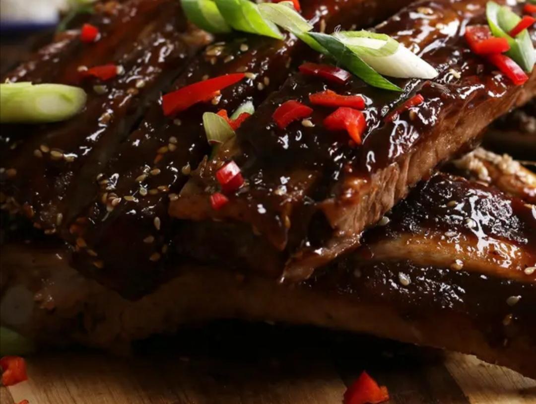 die Sachsengriller Grill Rezept Rippchen asiatisch